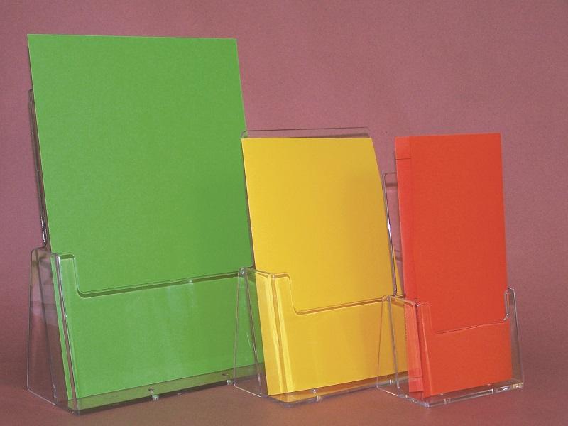 Plexiglas-Prospektständer