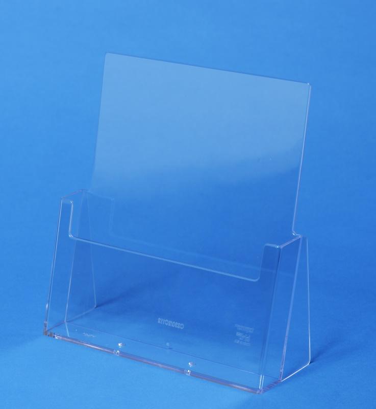 Plexiglas-Prospektständer DIN A4