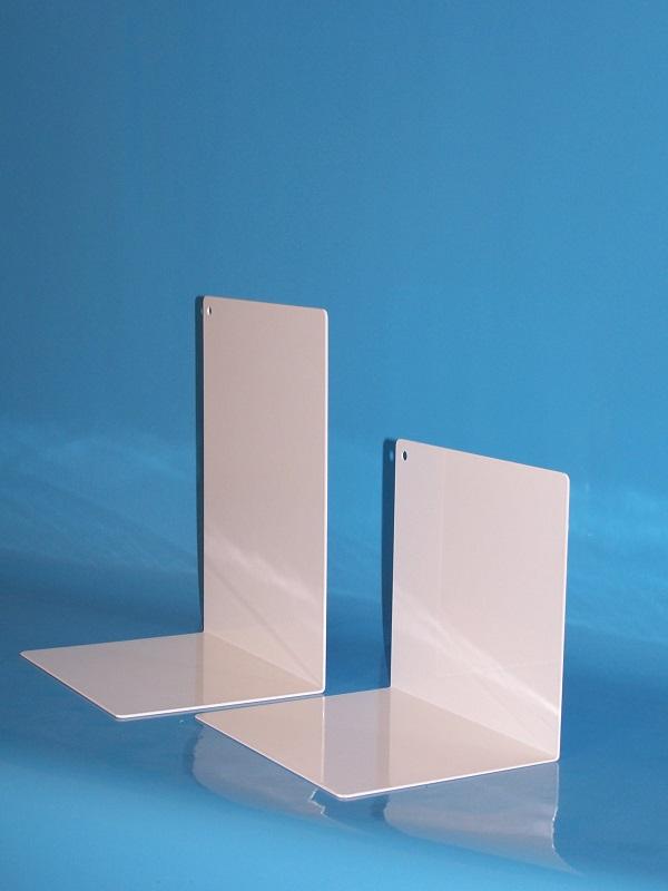 Winkelbuchstütze aus Stahlblech / Sonderanfertigung