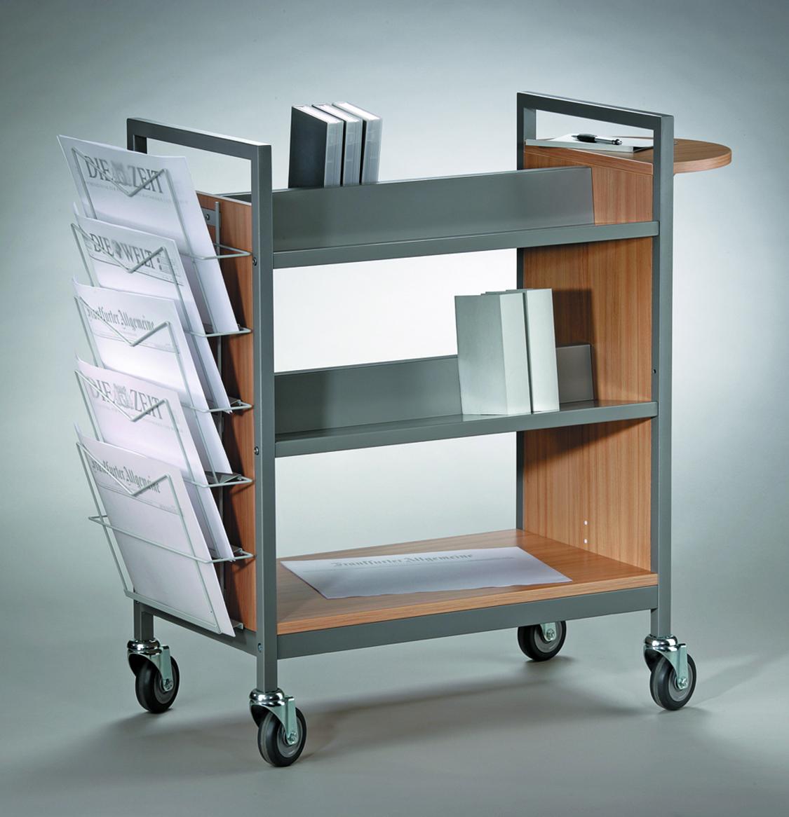 Krankenhaus- Bücherwagen