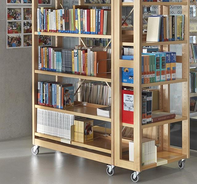 Regalsystem LETTORE Shelf HOLZ