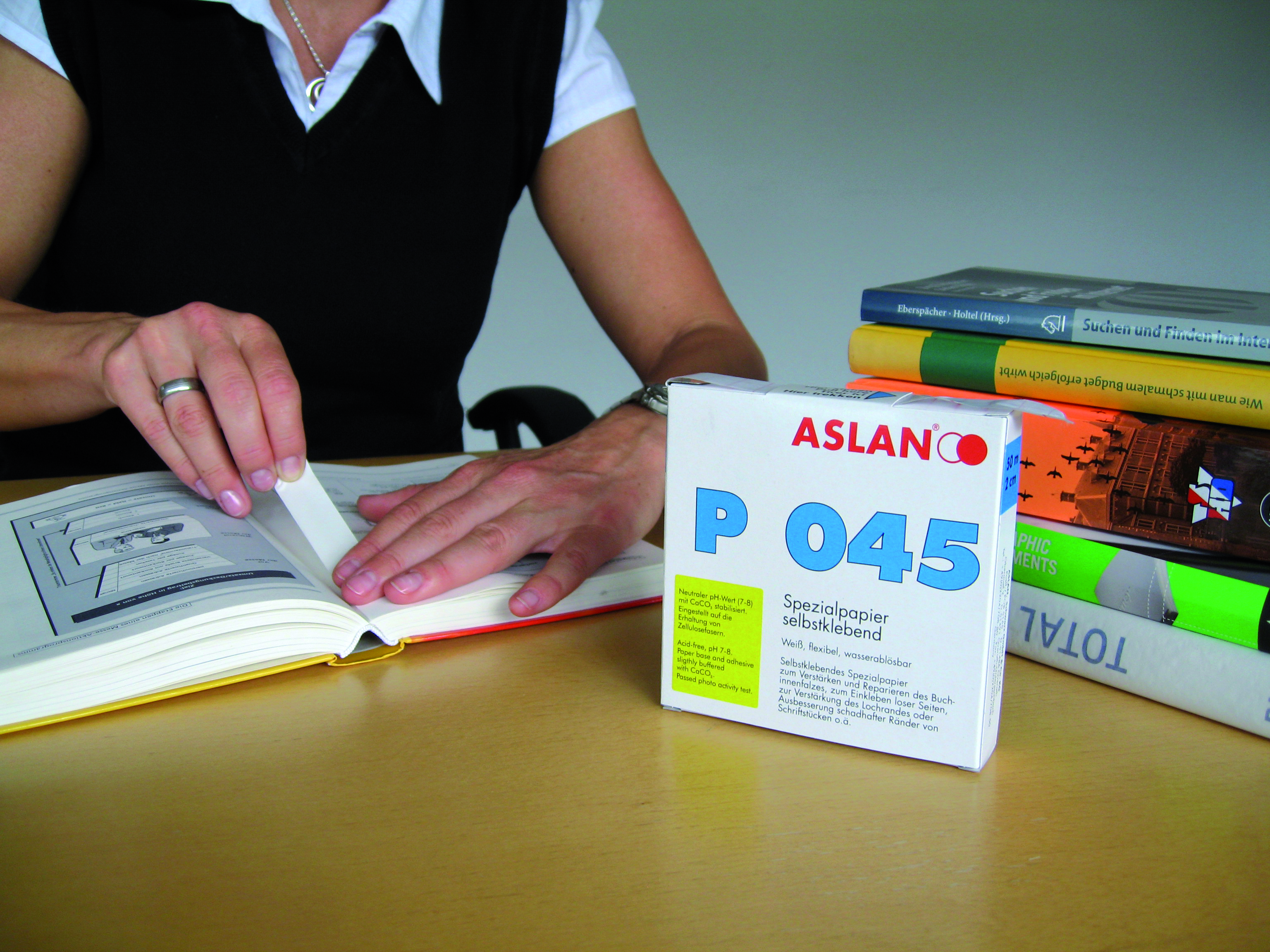 Reparaturpapier ASLAN P 045