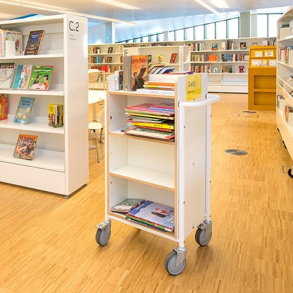 Bücherwagen Gotland plus