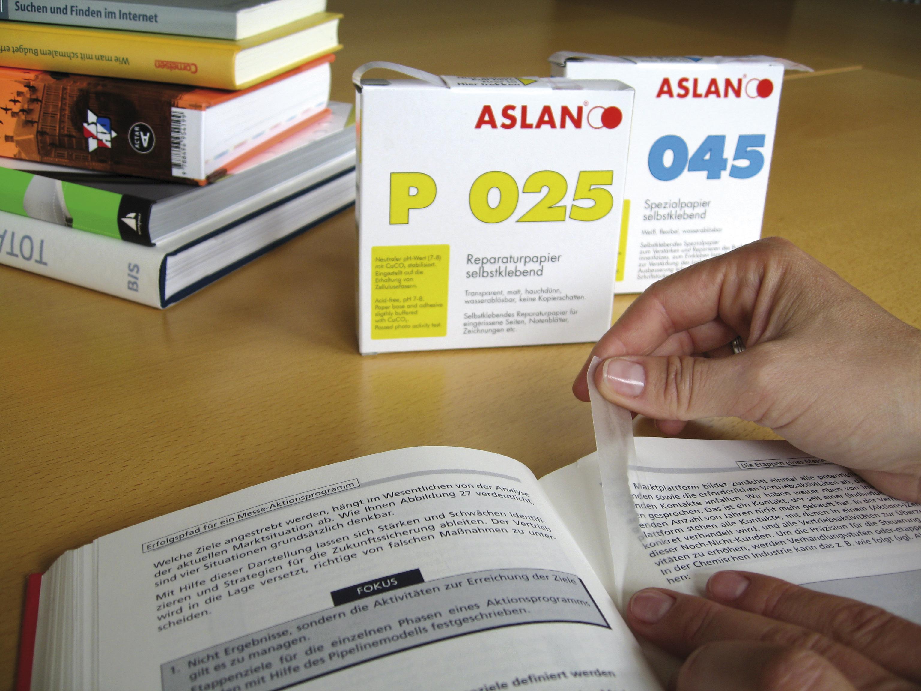 Reparaturpapier ASLAN P 025