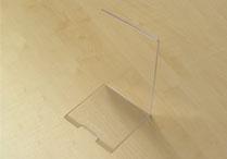 Plexiglas-Buchstütze