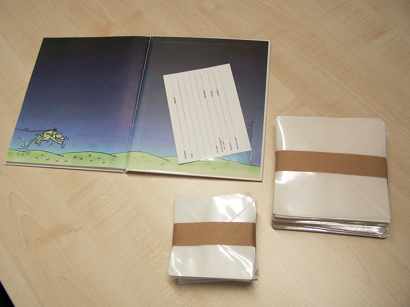 Buchkartentaschen
