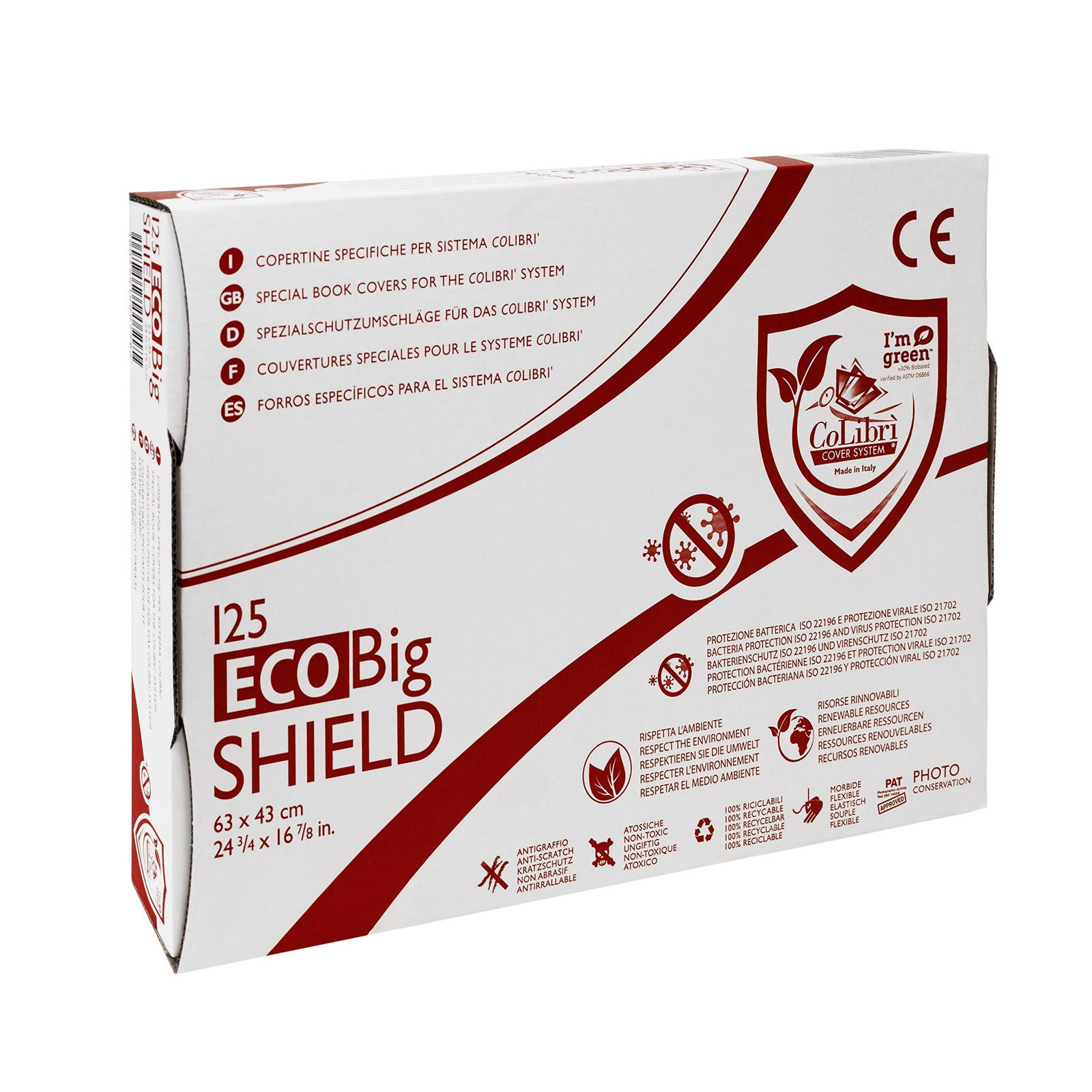 CoLibri ECO SHIELD Umschläge