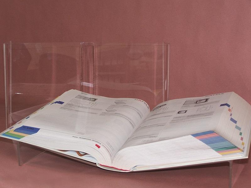 Qiajie Einstellbare Metallbuchst/änder Tragbare Buchauflage Lesest/änder f/ür das Home Office der Schule