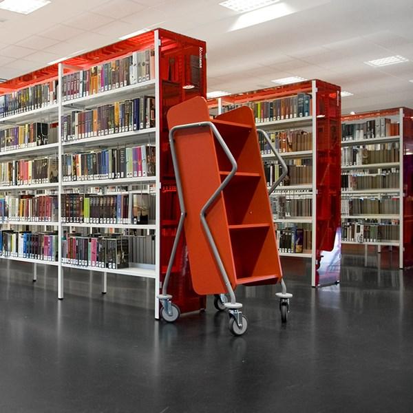 """Bücherwagen """"WE 12 - Querläufer"""""""