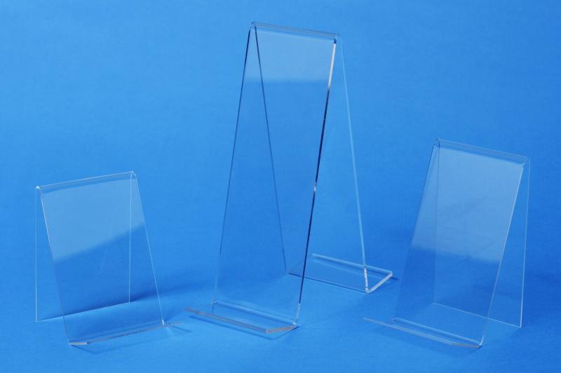 Plexiglas-Buchständer
