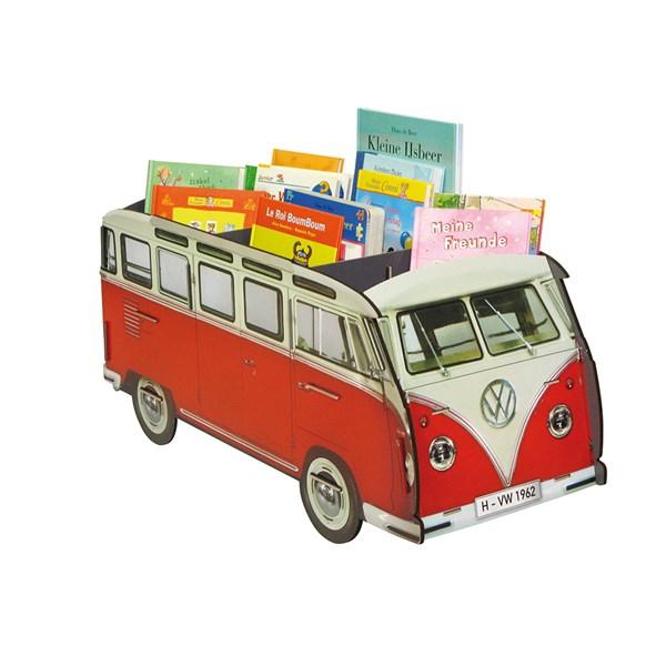 VW-Bus als Bilderbuchtrog