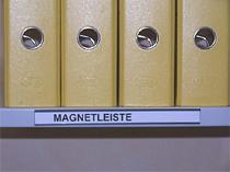Magnetleisten für Stahlfachböden