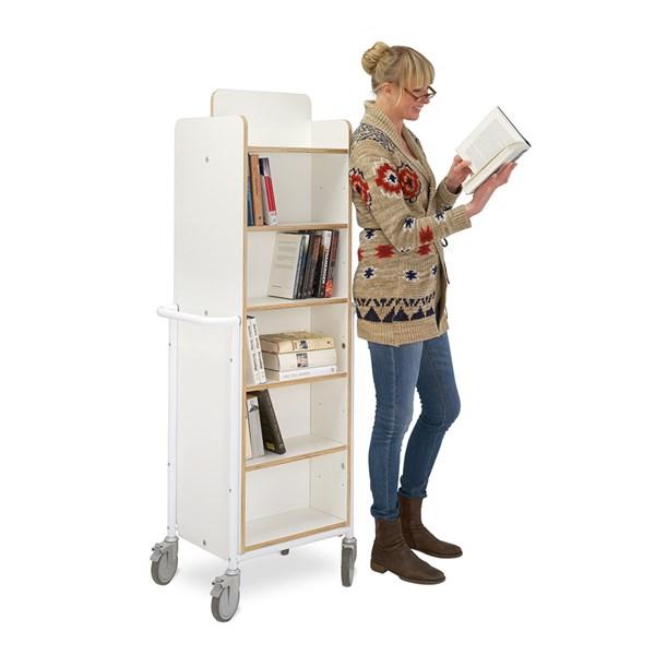 Bücherwagen Gotland XL plus