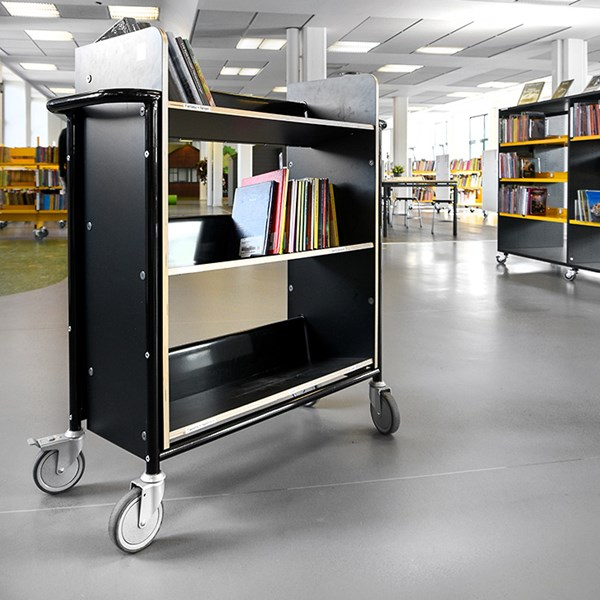 Bücherwagen Öland plus