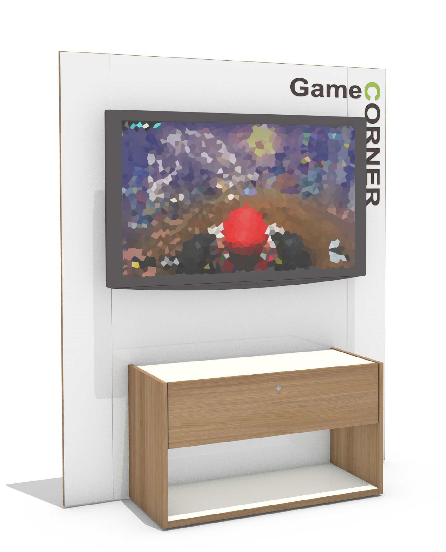 Game Corner (Gaming Wall) - Eco Design